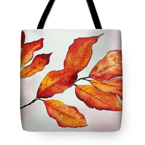 Autumn Tote Bag by Shannan Peters