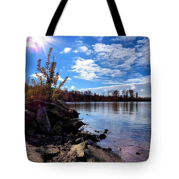 Autumn Shores Tote Bag