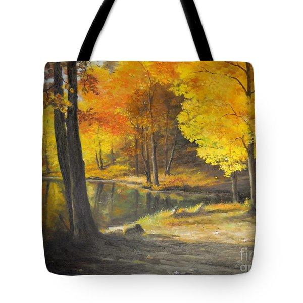 Autumn Silence  Tote Bag