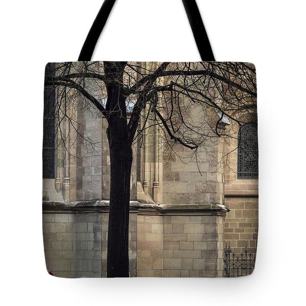 Autumn Silhouette Tote Bag by Muhie Kanawati
