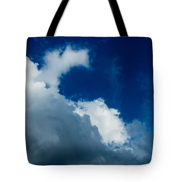 Autumn Skies Tote Bag by Alexander Senin