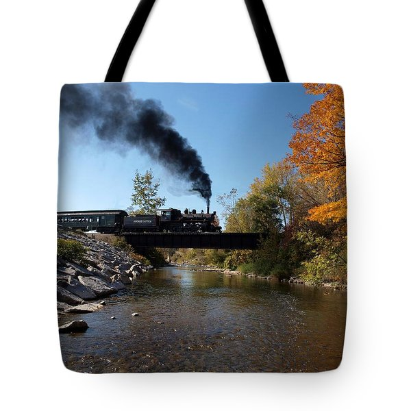 Autumn Steam Tote Bag