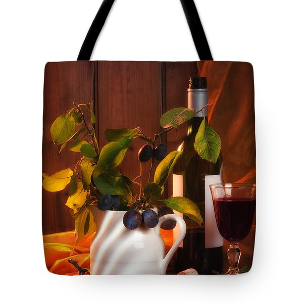 Autumn Still Life Tote Bag by Amanda Elwell