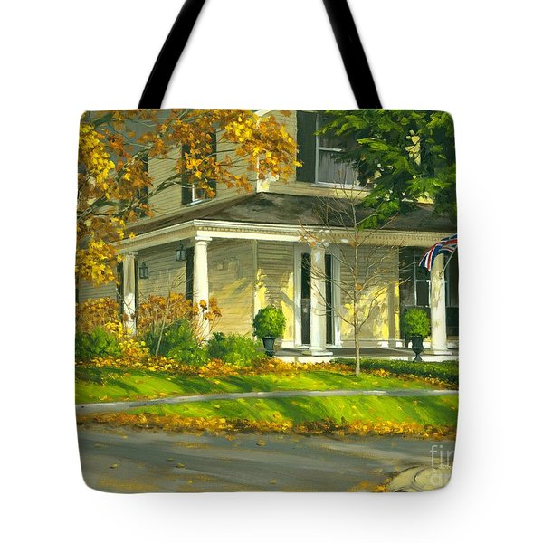 Autumn Sunlight II 18 X 24 Tote Bag