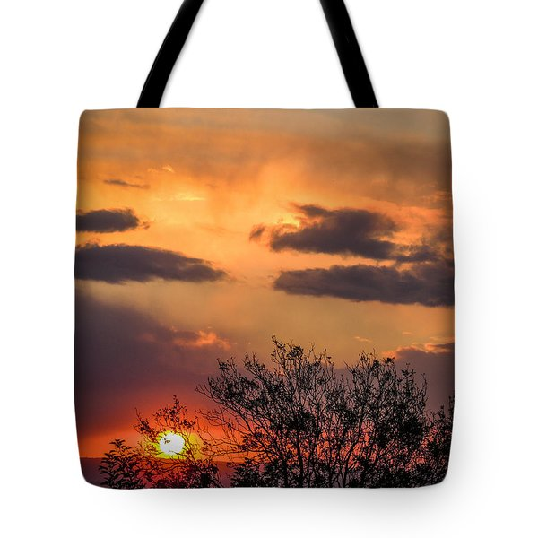 Autumn Sunrise Tote Bag