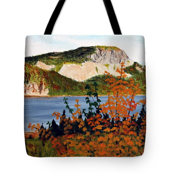 Autumn Sunset On The Hills Tote Bag by Barbara Griffin