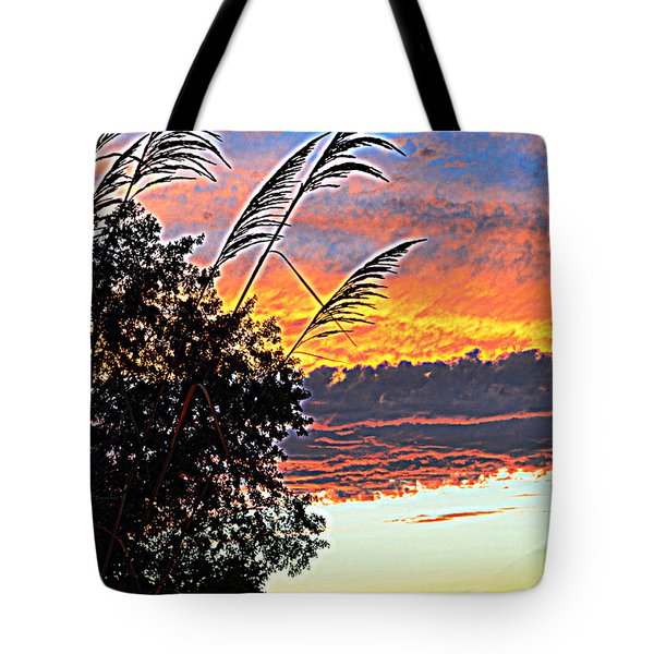 Autumn Sunset Tote Bag