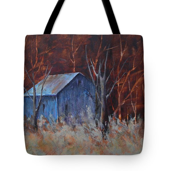 Autumn Surprise Tote Bag by Lee Beuther