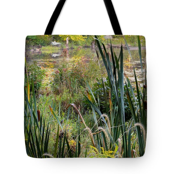 Autumn Swamp Tote Bag by Bill Wakeley