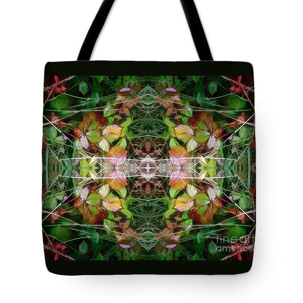 Autumn Symmetry Tote Bag