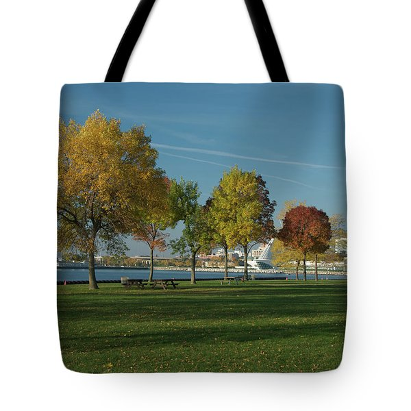 Autumn Trees Tote Bag by Jonah  Anderson