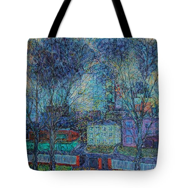 Autumn Twilight Tote Bag
