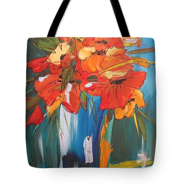 Autumn Vase Tote Bag