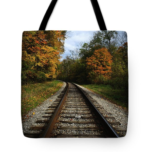Autumn View Tote Bag