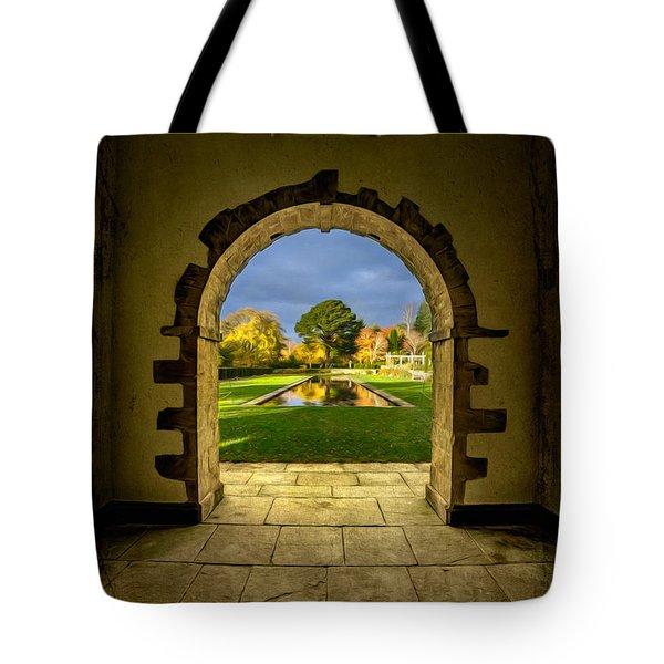 Autumn Views Tote Bag by Adrian Evans