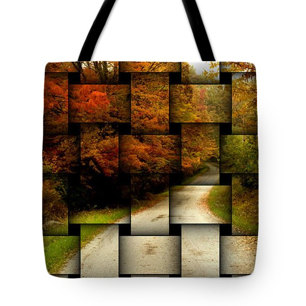 Autumn Weave Tote Bag