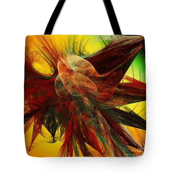 Autumn Wings Tote Bag by Andee Design