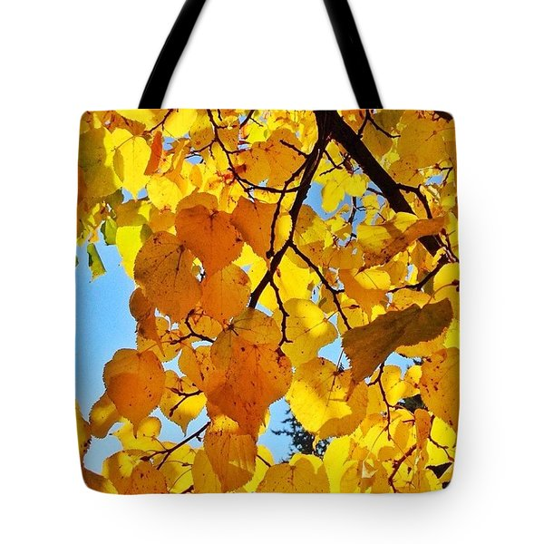 Autumn Yellows Tote Bag