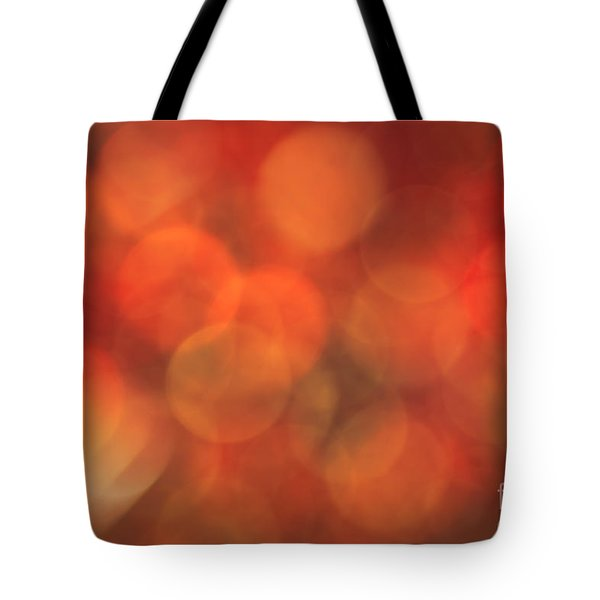 Autumnal Amber Tote Bag by Jan Bickerton