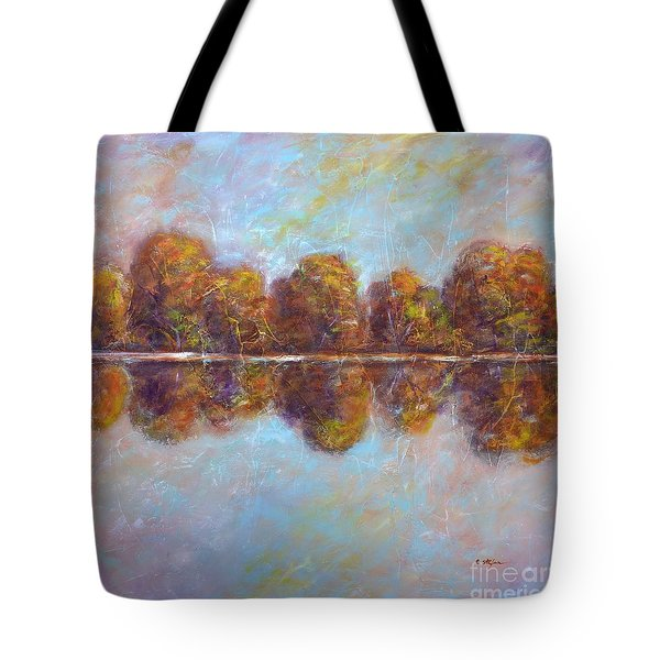 Autumnal Atmosphere Tote Bag