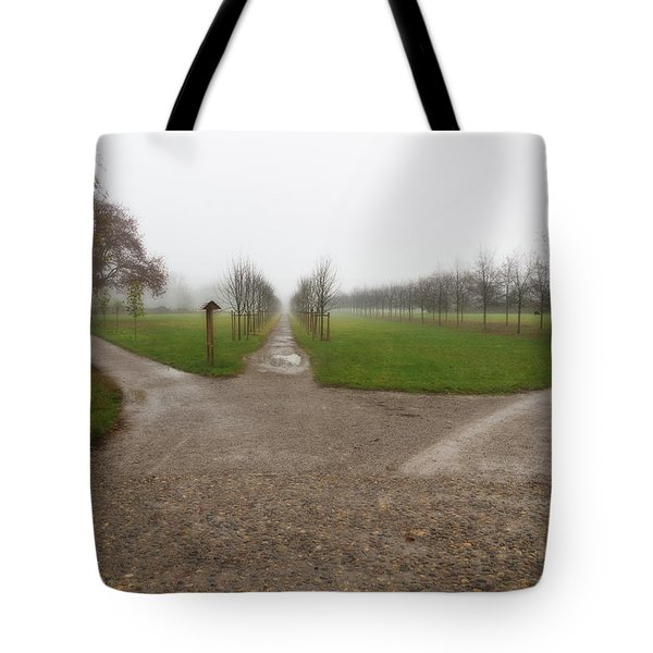 Autumnal Countryscape Tote Bag