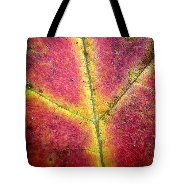 Autumnal Intricacy Tote Bag by Natasha Marco