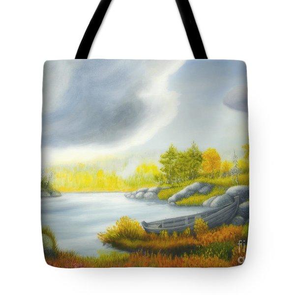 Autumnal Landscape Tote Bag