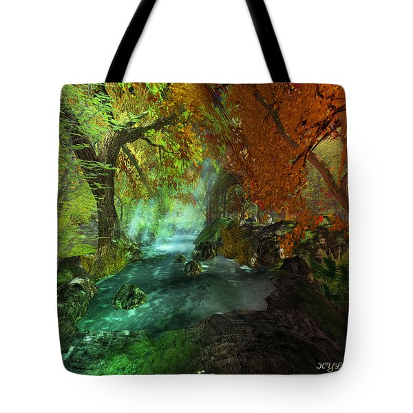 Autumnal Solitude  Tote Bag