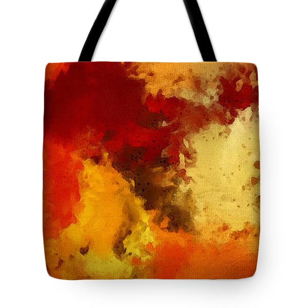 Autumn's Abstract Beauty Tote Bag