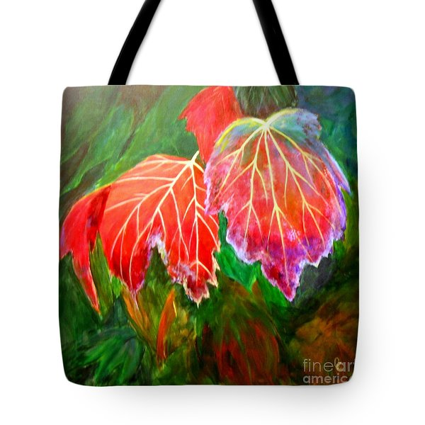 Autumn's Dance Tote Bag