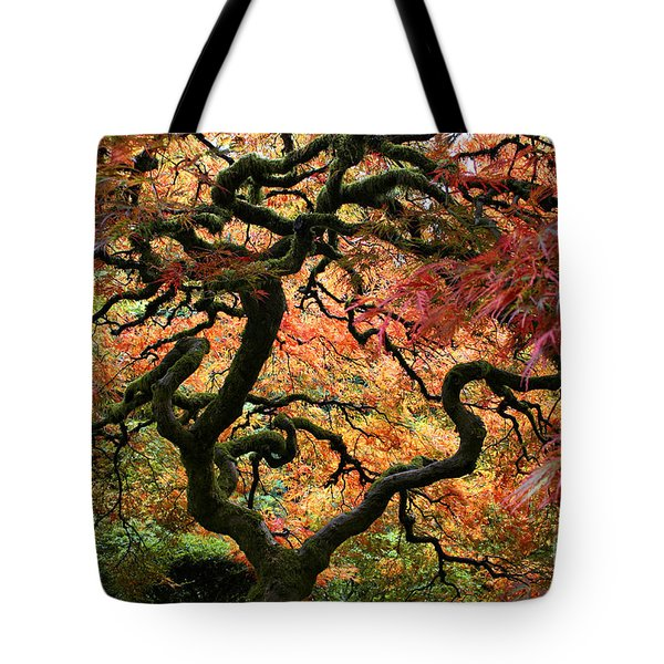Autumn's Fire Tote Bag
