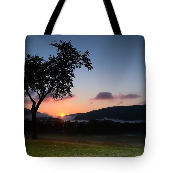 Autumn's First Breath Tote Bag