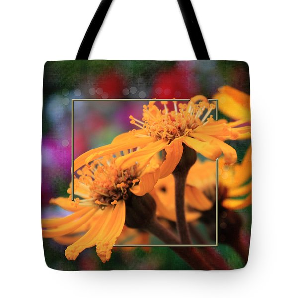 Tote Bag featuring the photograph Autumn's Glory by Sandra Foster