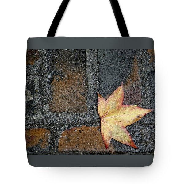 Autumn's Leaf Tote Bag