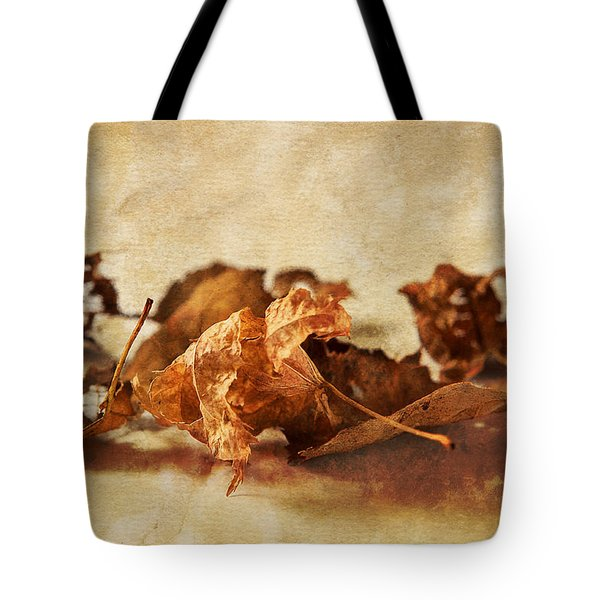 Autumn's Leavings Tote Bag by Caitlyn  Grasso