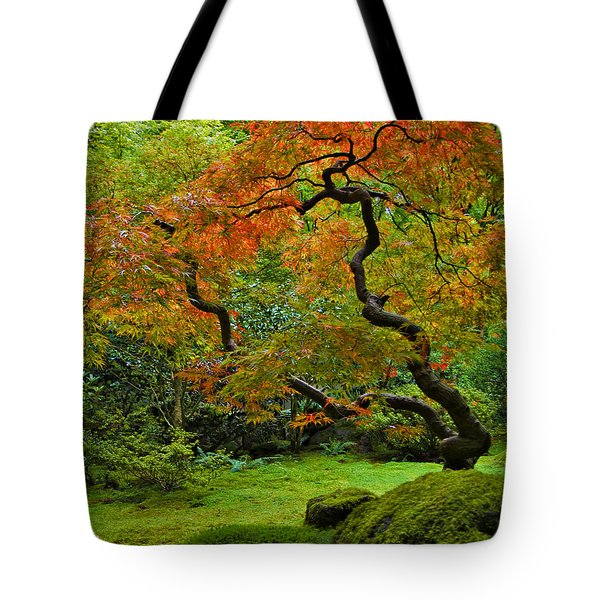 Autumn's Paintbrush Tote Bag