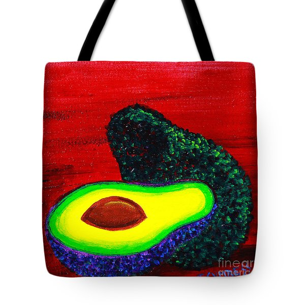 Ava Avocado Tote Bag
