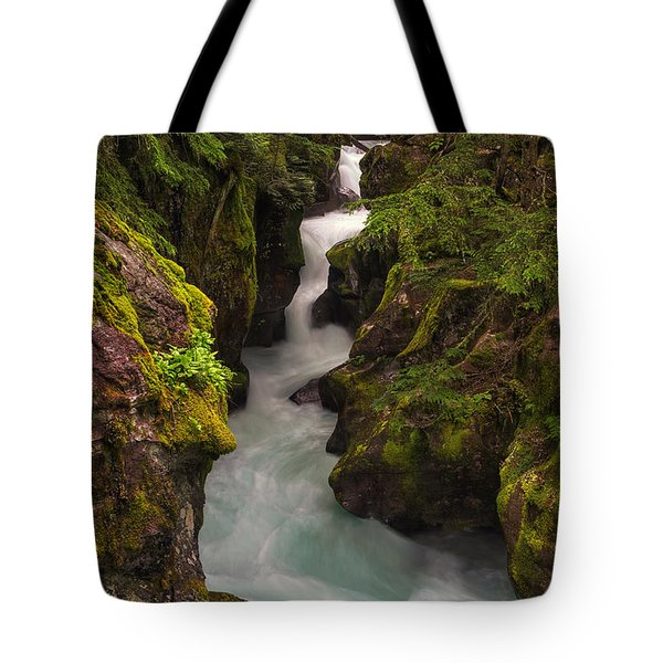 Avalanche Falls Tote Bag