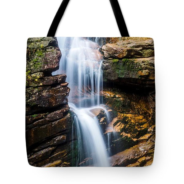 Avalanche Falls2 Tote Bag by Mike Ste Marie