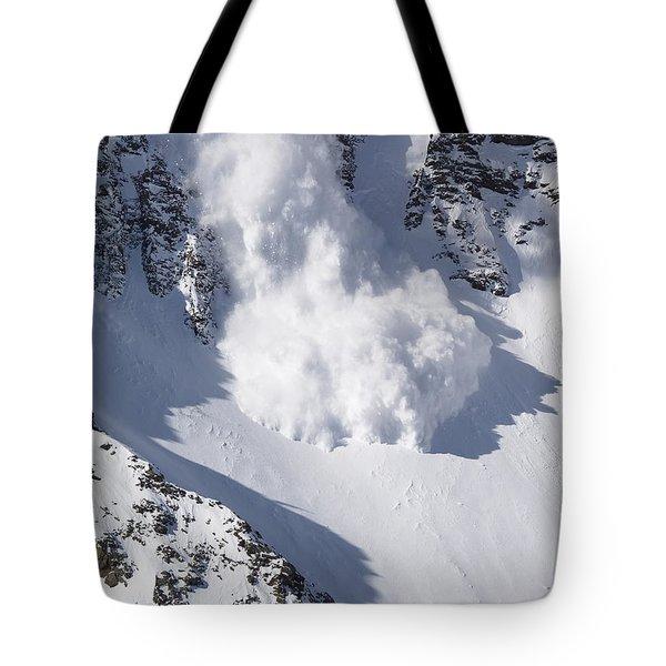 Avalanche II Tote Bag