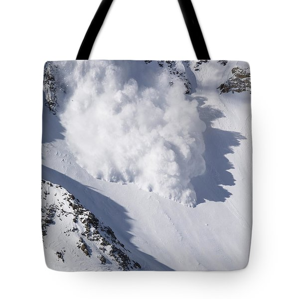 Avalanche IIi Tote Bag by Bill Gallagher