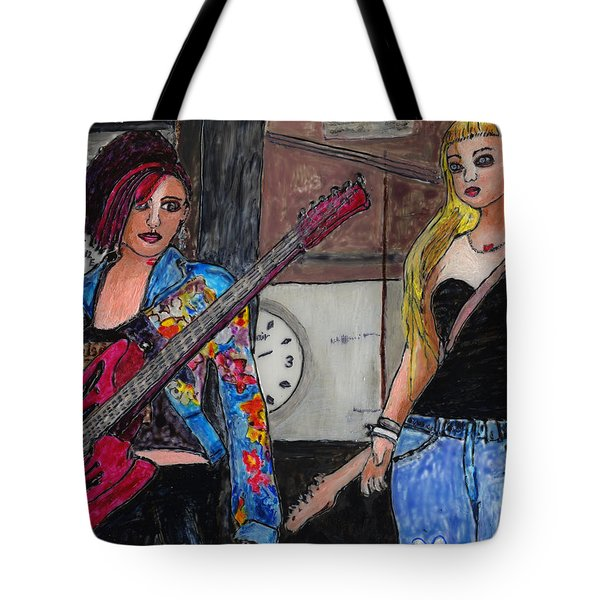 Avatar Girls Tote Bag