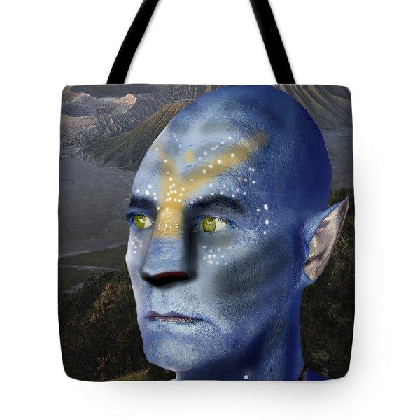 3ccb0280d6a7f2 Avatar Selfportrait Tote Bag Avatar Selfportrait. Dray Van Beeck