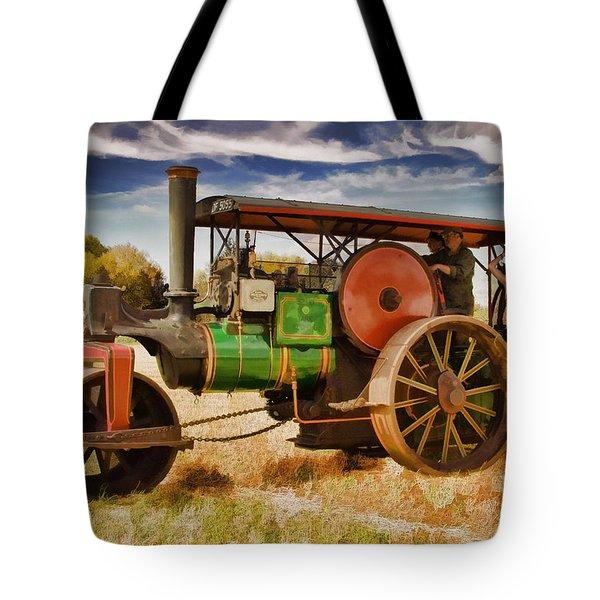Aveling Porter Road Roller Tote Bag