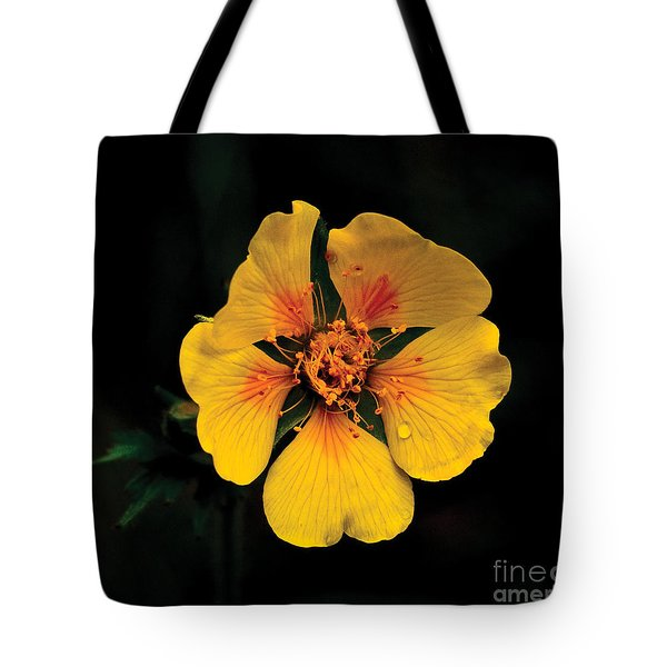Avens Flower Tote Bag