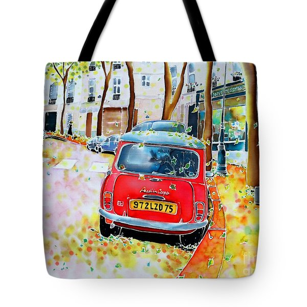 Avenue Junot In Autumn Tote Bag