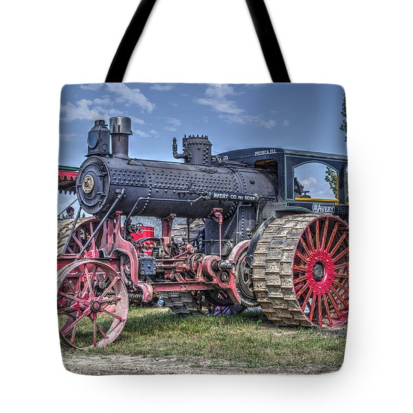 Avery 40 Hp  Tote Bag