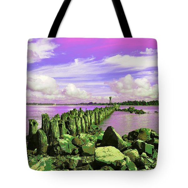 Avian Outpost Tote Bag