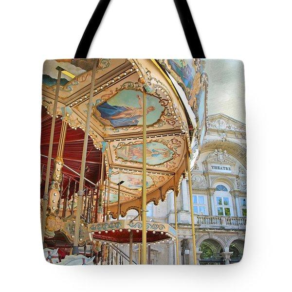 Avignon Carousel Tote Bag
