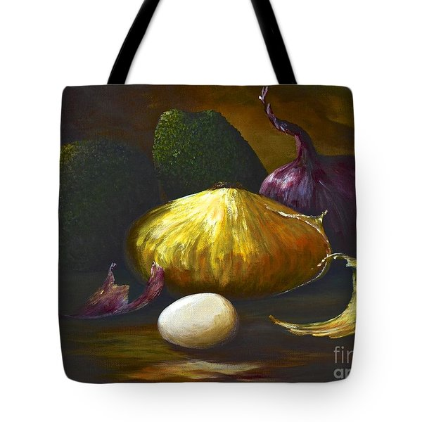 Avocado And Company Tote Bag by AnnaJo Vahle